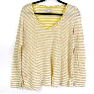 Anthropologie Saturday Sunday Striped Top L